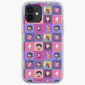 Aphmau Collection Mosaik Aaron, Zane, Kawaii chan iPhone Soft Case RB0907 product Offical Aphmau Merch
