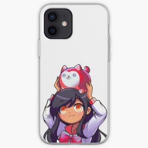 Cute Aphmau Red iPhone Soft Case RB0907 product Offical Aphmau Merch