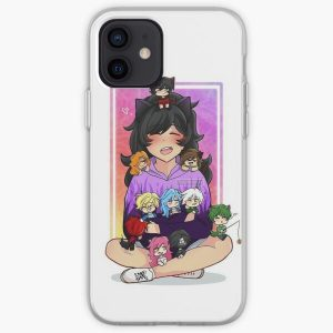 Aphmau and friends iPhone Soft Case RB0907 product Offical Aphmau Merch