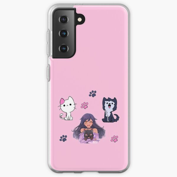 Aphmau Pets Sticker Pack Samsung Galaxy Soft Case RB0907 product Offical Aphmau Merch