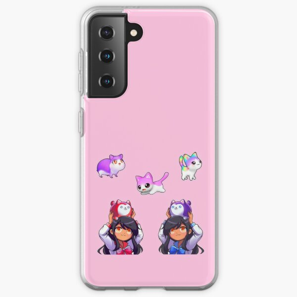 Aphmau Pets Sticker Pack Colourful Samsung Galaxy Soft Case RB0907 product Offical Aphmau Merch