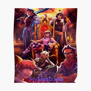 Aphmau My Inner Demons 1 Poster RB0907 product Offical Aphmau Merch