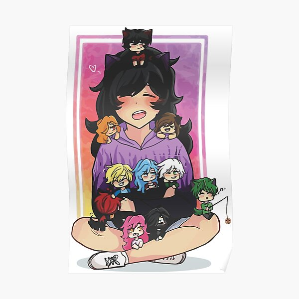 aphmau Smile Poster RB0907 product Offical Aphmau Merch