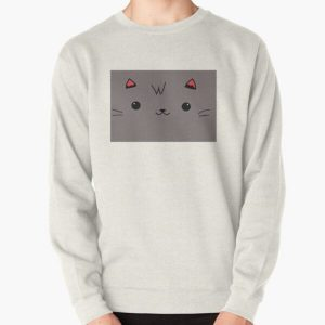 Aphmau Aaron cat pink and purple Pullover Sweatshirt RB0907 product Offical Aphmau Merch