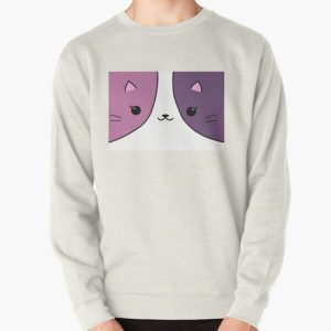 Aphmau cat pink and purple Pullover Sweatshirt RB0907 product Offical Aphmau Merch