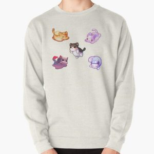 Aphmau Meow Plushies Anime Cats Pullover Sweatshirt RB0907 product Offical Aphmau Merch