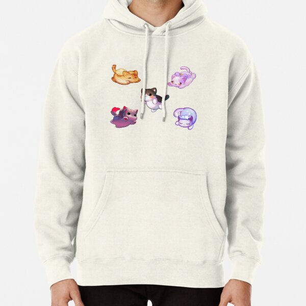 Aphmau Meow Plushies Anime Cats Pullover Hoodie RB0907 product Offical Aphmau Merch