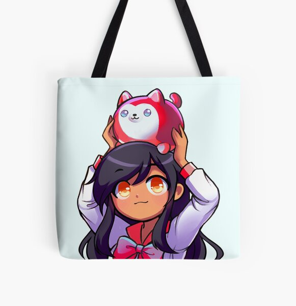 Cute Aphmau Red All Over Print Tote Bag RB0907 product Offical Aphmau Merch