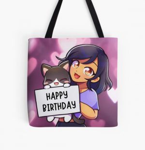 Aphmau Happy Birthday Gift All Over Print Tote Bag RB0907 product Offical Aphmau Merch
