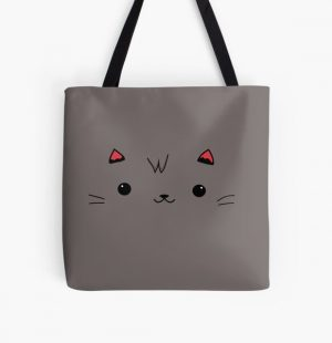 Aphmau Aaron cat pink and purple All Over Print Tote Bag RB0907 product Offical Aphmau Merch