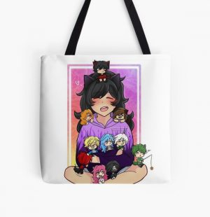 Aphmau and friends All Over Print Tote Bag RB0907 product Offical Aphmau Merch
