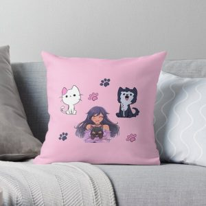 Aphmau Pets Sticker Pack Throw Pillow RB0907 product Offical Aphmau Merch