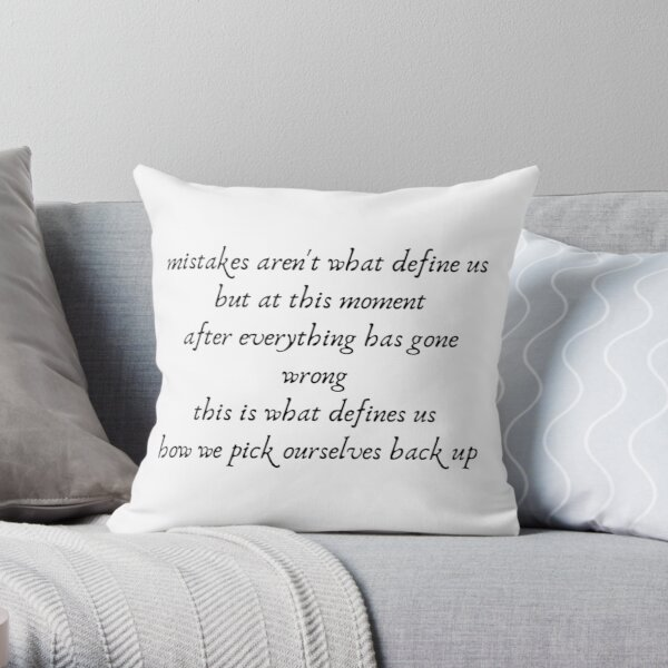 Aphmau Quote Throw Pillow RB0907 product Offical Aphmau Merch