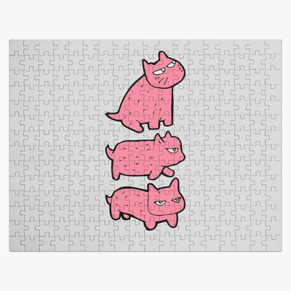 1 2 3 Busy Aphmau cat  Jigsaw Puzzle RB0907 product Offical Aphmau Merch