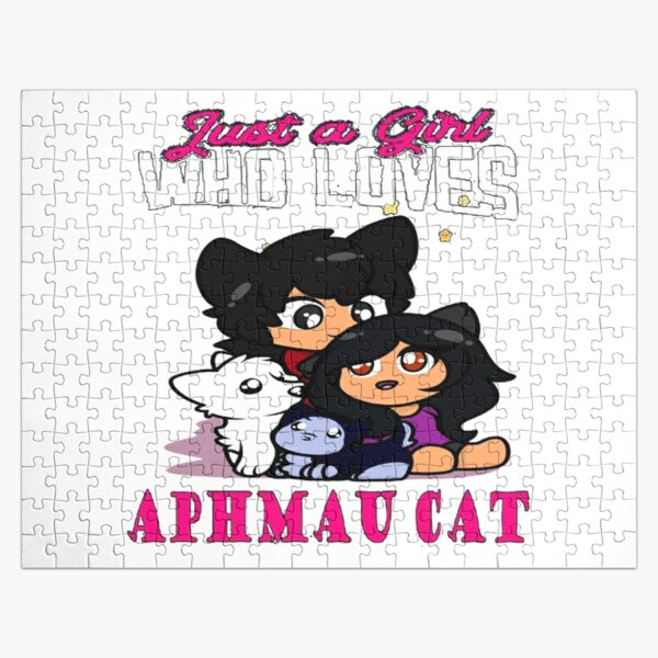 just a girl who loves aphmau cat Jigsaw Puzzle RB0907 product Offical Aphmau Merch