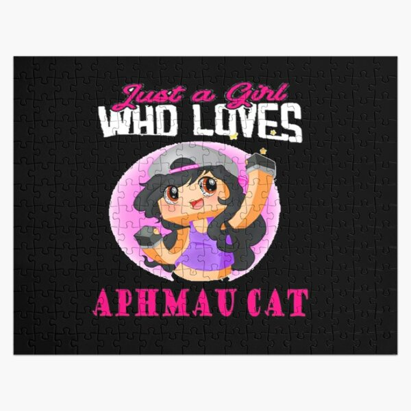 Copy of just a girl who loves aphmau cat Jigsaw Puzzle RB0907 product Offical Aphmau Merch