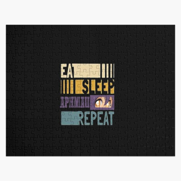 eat , sleep , aphmau ,repeat Jigsaw Puzzle RB0907 product Offical Aphmau Merch