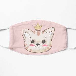 Queen Aphmau cat  Flat Mask RB0907 product Offical Aphmau Merch