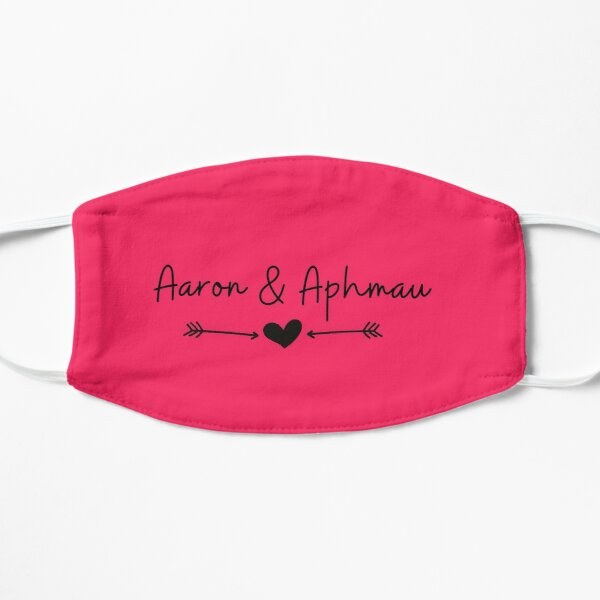 Aaron & Aphmau Flat Mask RB0907 product Offical Aphmau Merch