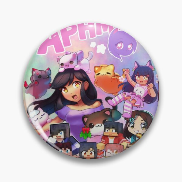Aphmau Art Pin RB0907 product Offical Aphmau Merch